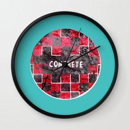 Concrete Ball Wall Clock