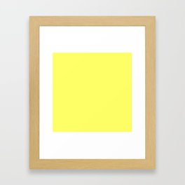 Lemon Slice Framed Art Print