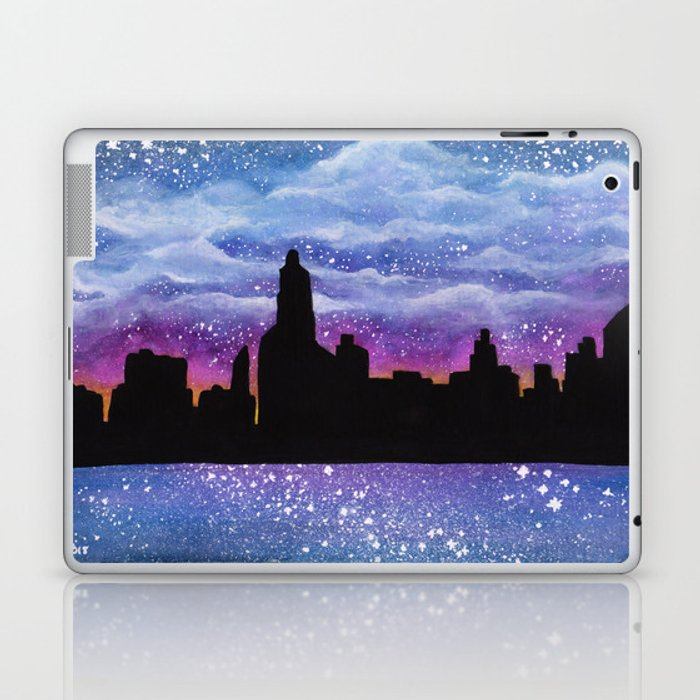 City of Stars Laptop & iPad Skin