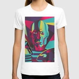 great spanish colorful portrait painter T-shirt