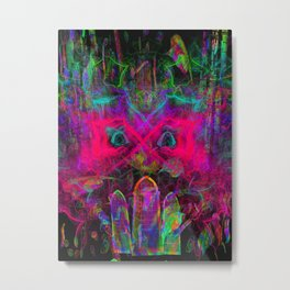 The Eyes of The Mystic Metal Print