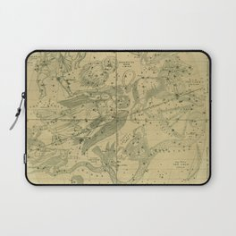 Atlas, Designed to Illustrate the Geography of the Heavens, plate IV (1850) Laptop Sleeve