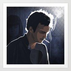 Breaking Bad Illustrated - Jesse Pinkman Art Print
