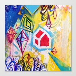 Wandering Star Canvas Print