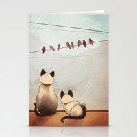 friendship Stationery Cards featuring Friendship by Naomi VanDoren