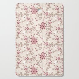 Delicate floral pattern. Cutting Board