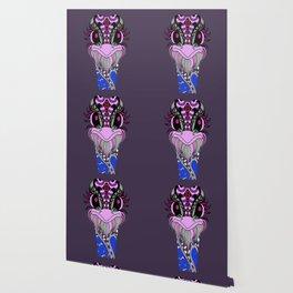 Ostrich Pattern Summer Wallpaper