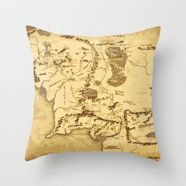 middleearth Throw Pillow