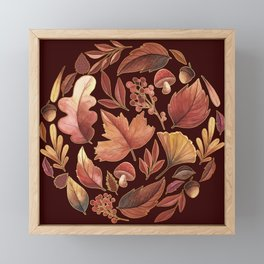 The Winds Of Autumn Have Returned Framed Mini Art Print