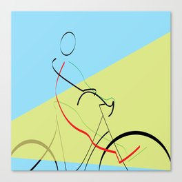 free wheeling Canvas Print