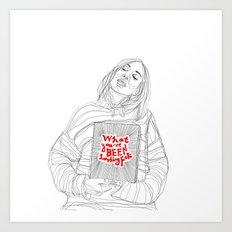am I? Art Print