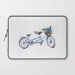 Tandem bicycle Laptop Sleeve