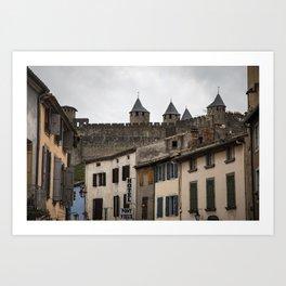 Carcassonne, France Art Print