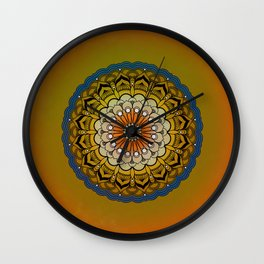 Round Colorful Design Wall Clock