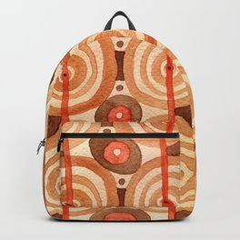 Shaman dance / Abstract tribal pattern Backpack