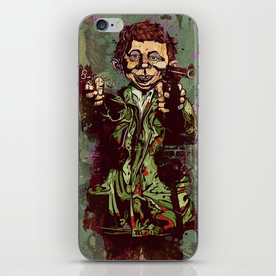 What Me Worry ? iPhone & iPod Skin