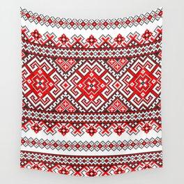 Cross stitch pattern Wall Tapestry