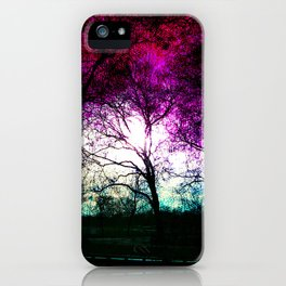 london high park at the end of january iPhone Case