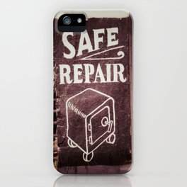 Safe Repair iPhone Case