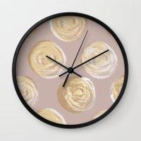 dot Wall Clocks featuring Dot by Katie L Allen
