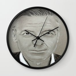 Georges Clooney Wall Clock