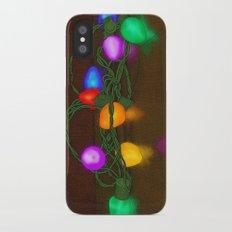 All Lit Up iPhone X Slim Case
