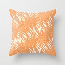 Ash Tree Leave Scandinavian Pattern Throw Pillow