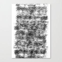 Black Pattern#4 Canvas Print