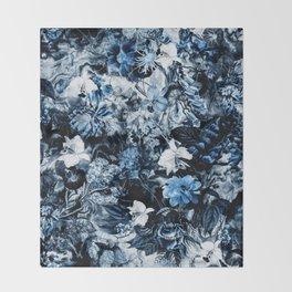 WINTER GARDEN Throw Blanket
