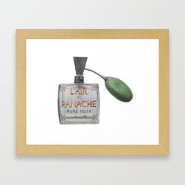 L'AIR de PANACHE Framed Art Print