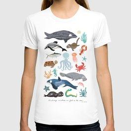 Sea Change: Ocean Animals T-shirt
