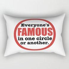 Famous Rectangular Pillow