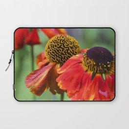 Orange in Flowers Laptop Sleeve