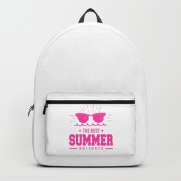 The Best Summer Holidays mag Backpack