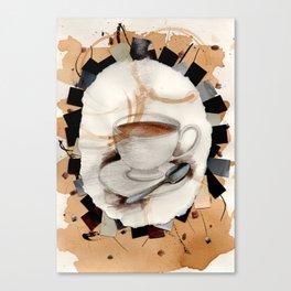 Hot: Tea Canvas Print