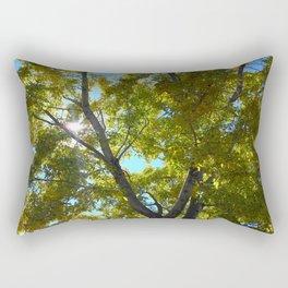Sun Leaves Rectangular Pillow