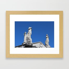 The Headless Guardian Framed Art Print