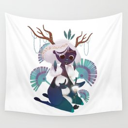 FOREST PRINCESS Wall Tapestry