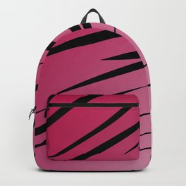 wild lines, exotico  Red Backpack