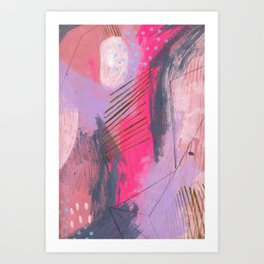 i wish i could tell you but there isn't a word for it Art Print