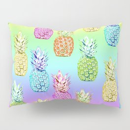 Pineapple Rainbow Pillow Sham