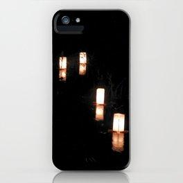 Lanterns of Healing (Japan) iPhone Case