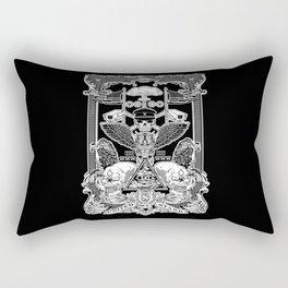 THE POLITICS OF GREED Rectangular Pillow