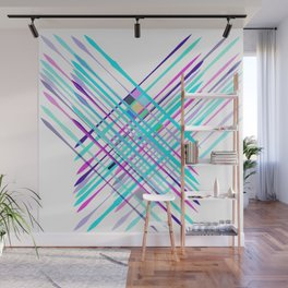 Improvised Geometry Nr. 2, Abstract Wall Mural
