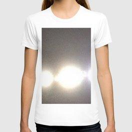 Abstracte Light Art in the Dark Version 31 T-shirt