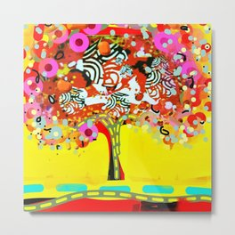 calipso fusion tree Metal Print
