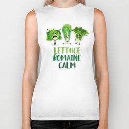 Lettuce Romaine Calm Biker Tank