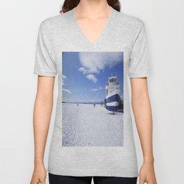 Frozen Ferry Unisex V-Neck