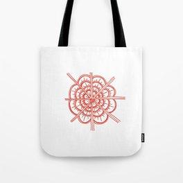 Rose Design Tote Bag