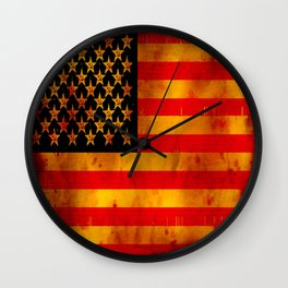 RUSSIAN-AMERICAN - 062 Wall Clock